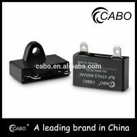 CBB61 series motor capacitor hotsale ceiling fan wiring diagram cbb61 square shape for speed regulator