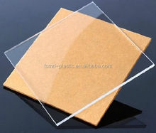 Chinese factory 0.8mm clear Acrylic/PMMA Sheet