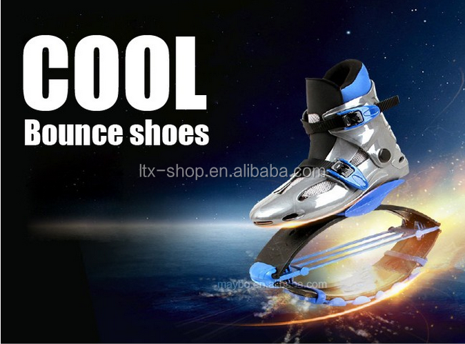 Cool Spring Sports Shoes Jumping Bounce Shoes For Adults/Kids Bounce Jumping Shoes
