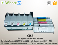 China Best Selling (Continuous Ink Supply System) CISS for Epson T3000 Large Format Printer