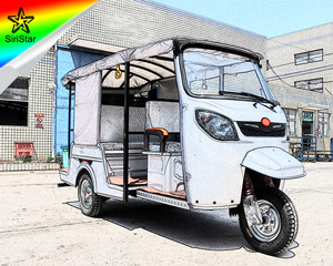 2018 New Style Electric Passenger Three Wheeler Tuk Tuk For Sale Portugal