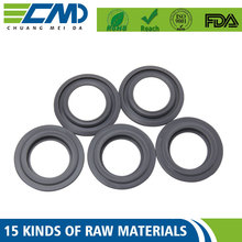Good Chemical / Heat Resistant Rubber Round Flat Iir Sealing Washer