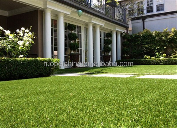 four color synthetic landscaping grass artificial grass for outdoor decor