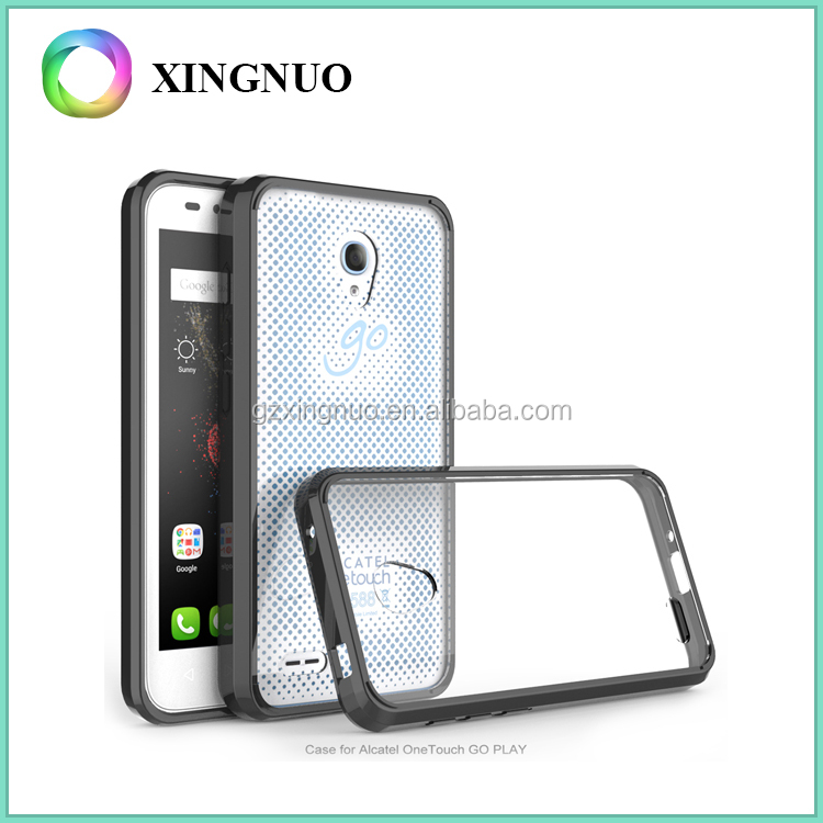 Ultra Thin Hard and Soft Material Case Phone PC TPU for Alcatel One Touch Go Play OT 7048