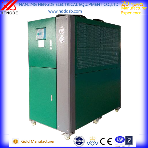 air cooled chiller with directly cooling plating tanks