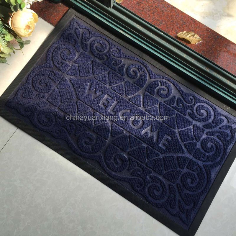 Recycled Rubber Welcome Entrance Door Mats