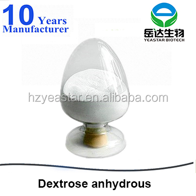 dextrose anhydrous 99.5% oral/food/ phamaceutical/injection grade