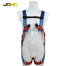 fall protect full body harness with shock absorber