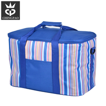 Insulated portable frozen food travelling cooler bags lunch box bottle cooler bag