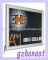 Aluminium frame Super slim Light Box