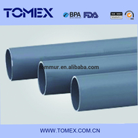 2015 china supplier wholesale products high quality dn100 pvc-u pipe with rubber joints