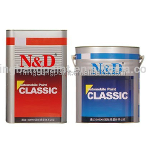 China Paint Manufacturer Car Paint 2 K Solid Color Auto Base Coat