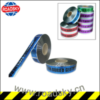 Aluminum Safety Caution Underground Detectable Marking Tape
