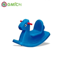 hot sale CE ROSH kid play plastic rocking horse