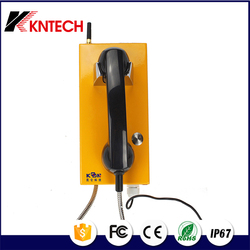 No keypad industrial phone KNZD-14 emergency phone auto dial telephone Public phone