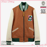 Newest Design Fashion Colorful long sleeve casual Knitted Boys Winter Coat
