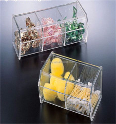 Practical Acrylic Storage Box for Swab