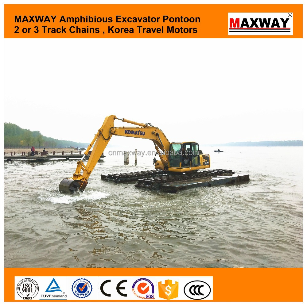MAXWAY Cheap PC200 Big Float Excavator for sale , CE , EPA , SGS , Model: MAX200SD