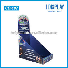 High quality PDQ pallet display for promotion,cardboard display shelves