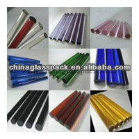 color borosilicate glass tubes/ rod
