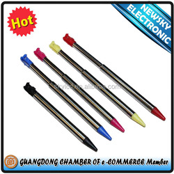Metallic Retractable Touch Pen Stylus without Packing for 3DS XL/DSL/NDS/NDSL