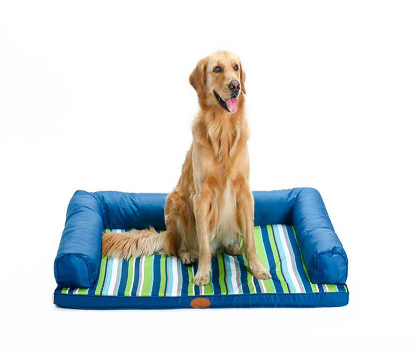 All Seasons Couch Style Headrest Edition Pillow Top Orthopedic Pet Bed & Lounge for Dogs and Cats