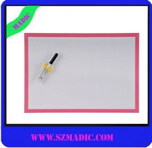 plastic framed Magnetic white board