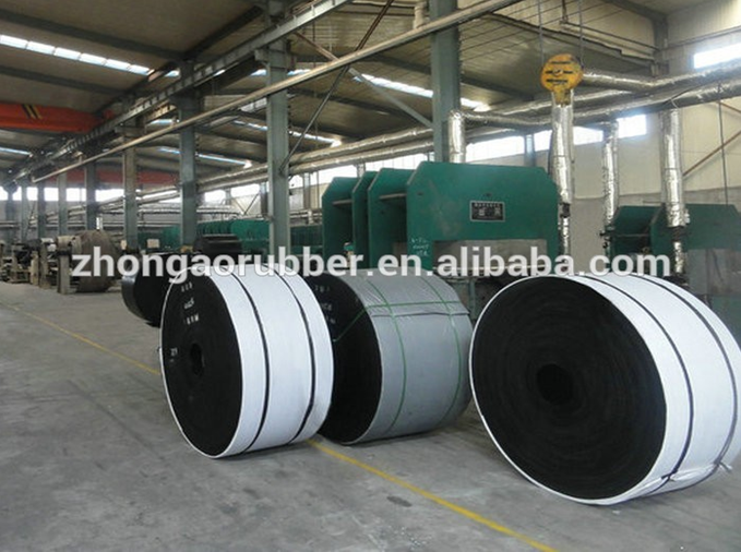 mine,stone,sand cement fabric cord Nylon NN EP CC black rubber conveyor belt