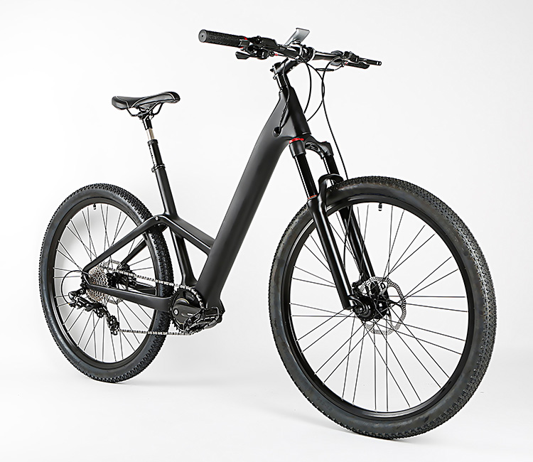 New design e bike carbon electric bike with hidden battery 240W