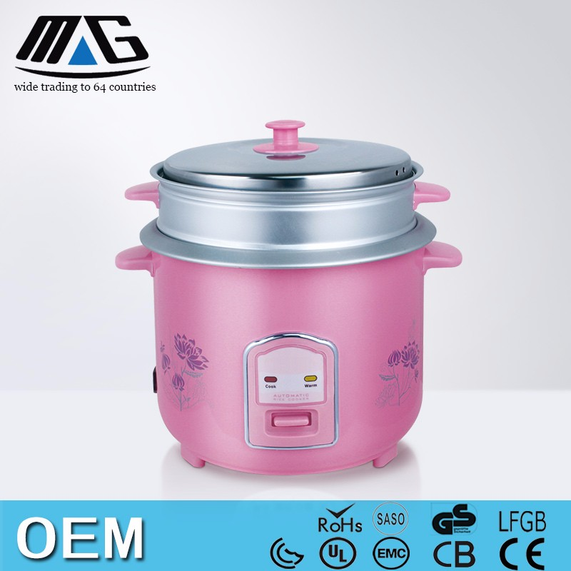 OEM multi function stainless steel electric rice cooker steamboat cooker