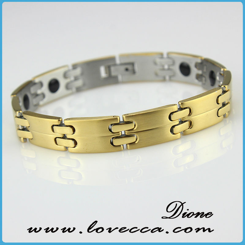 stainless steel bike chain bracelet,logo chain stainless steel bracelet,health magnetic bracelet