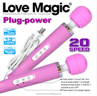 Love Magic Ten Speeds Original Magic Wand Electric plug in Vibrator