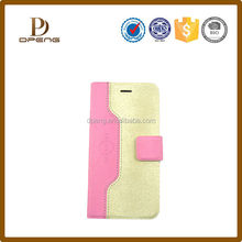 Hot Selling Folding Stand Leather phone Case for Samsung Galaxy Note Edge