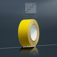 Good adhesion yellow anti slip tape 50mmx20m solvent adhesive