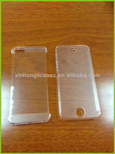 slim 0.55mm pc 100% clear case for iphone 5s