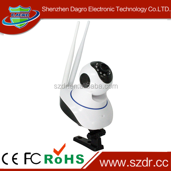 Network camera intelligent wireless video camera live chat support
