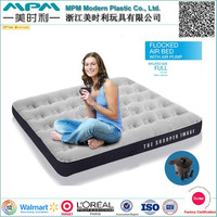 Comforable Soft High Quality PVC Inflatable Air Bed With Pump