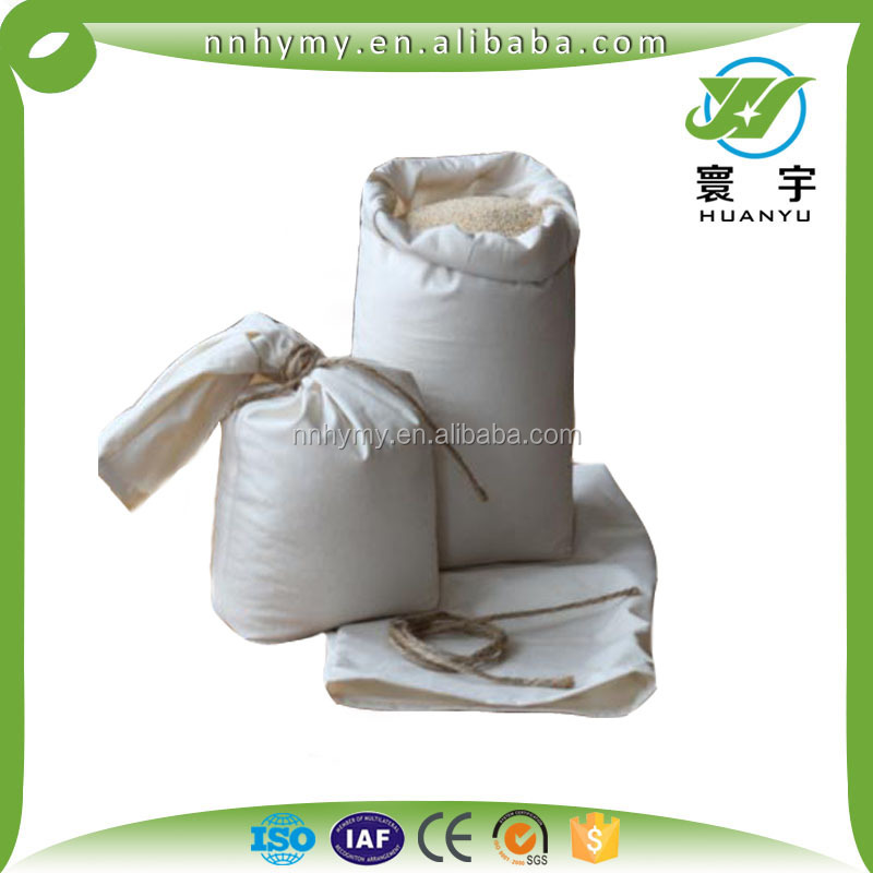 Agriculture Industrial Use and Rice Use PP woven poly bag White color