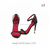 OS23 women shoes summer sandals 2015 ankle straps stiletto heels sandals New arrival sexy sandals