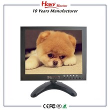 Excellent 8 inch LED Monitor Price With DC Powered