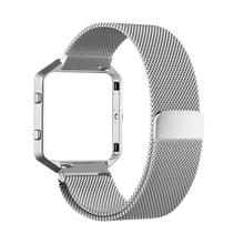Smart Watch Band Strap For fitbit blaze, Metal Strap cover protector <strong>case</strong> For fitbit blaze Mobile Watch