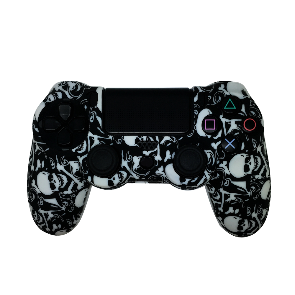 OEM design silicone case for PS4 controller rubber skin for Playstation 4