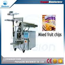 15g - 100g 500g Mixed Fruit Chips / Snack Food Packaging Machine price