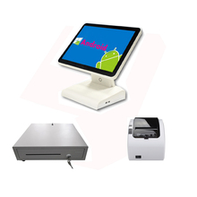 android pos terminal/pos machine price/point of sale for supermarket /restaurant software