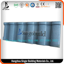 Construction Material Stone Coated Steel Roofing Tiles, Eaves Tiles Alu-zinc Steel Roofing