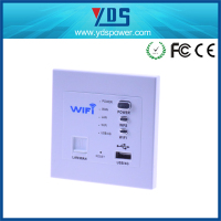 China mobile phone accessories worldwide type faceplate input 240v AC dual usb wifi socket