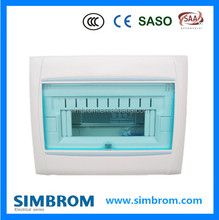 7-9 ways family indoor main switchboard box electrical power distribution box