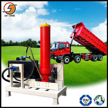 Long Stroke, Multi Stages Hydraulic Cylinder For Dump Truck Spare Parts--HOWO, Sinotruck