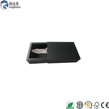 top quality Eco-friendly trending hot products cutom black cardboard kitchen knife set paper box