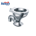 Off-Floor, Siphon Jet Stainless Steel Replacement Security Toilet for Rear Mount (Chase) Application